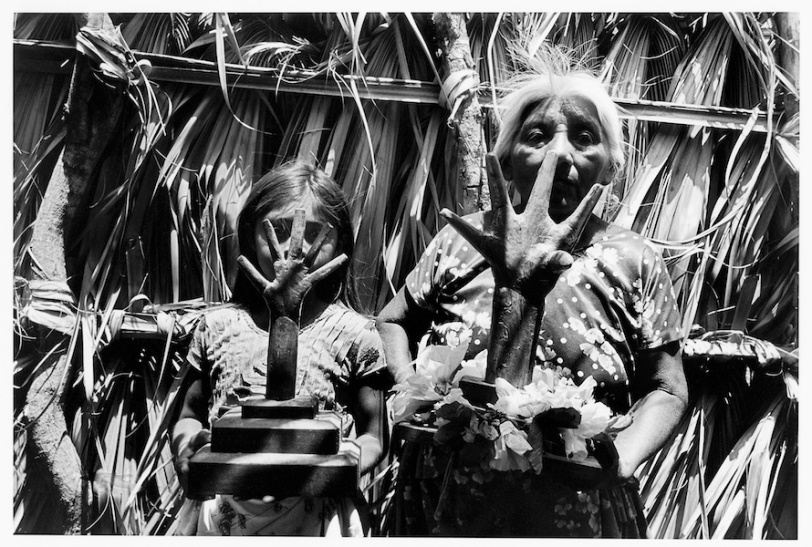 "From the project ""Our Lady of the Iguanas"" - Photo by Graciela Iturbide"